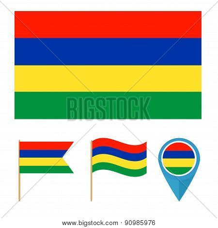 Mauritius,country flag