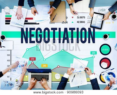 Negotiation Benefit Compromise Contract Growth Concept