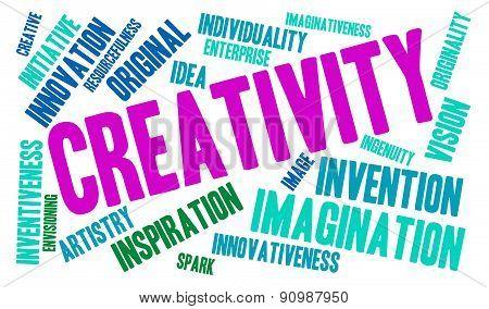 Creativity Word Cloud