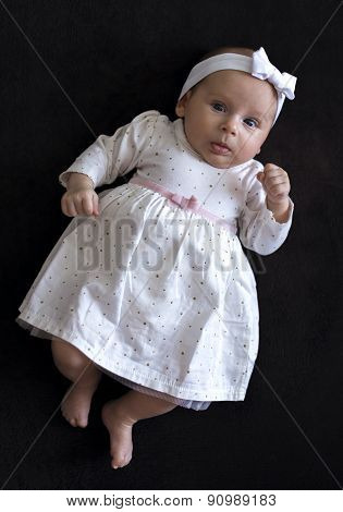 Baby Girl In A Dress