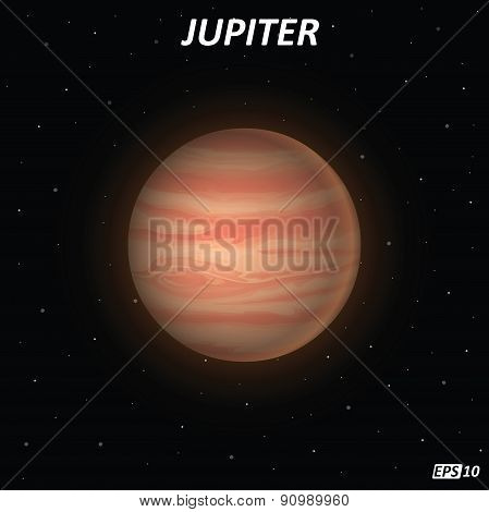 Jupiter planet - Illustration