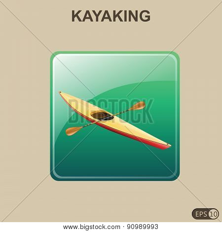 Kayaking - Illustration
