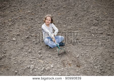 Digging By Hoe