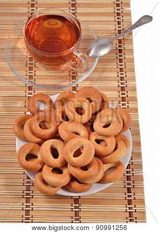 Bagels And A Tea Cup