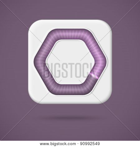 Web preloader. Download bar icon