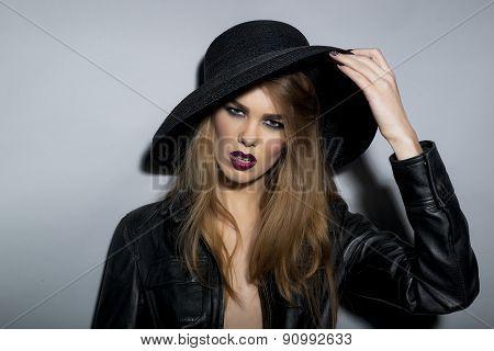 Perilous Seductive Young Blonde Girl