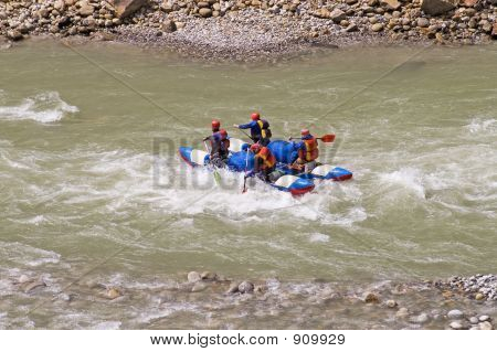 Boating On Ganga