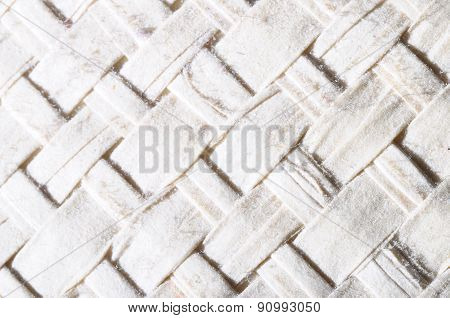 Close Up Of Braided Cloth Texture