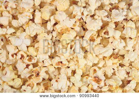 Fresh Popcorn Background