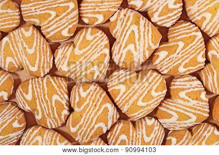 Cookies In Heart Shape