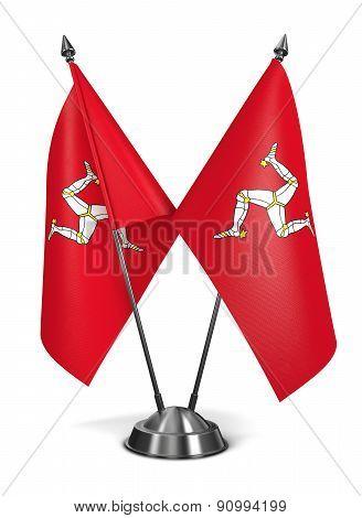 Isle Man - Miniature Flags.