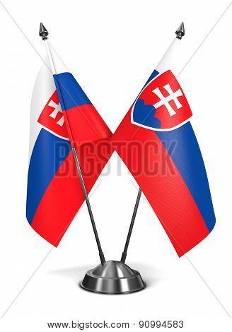 Slovakia - Miniature Flags.