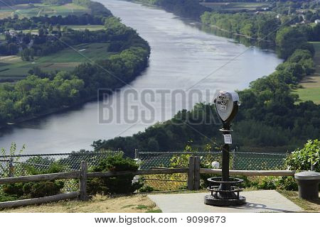 Viewfinder Onto Connecticut River Valley