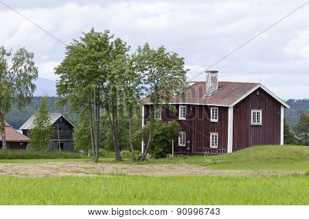Buildings in the Great-Lake area, Sweden.