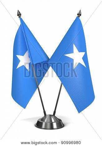Somalia - Miniature Flags.