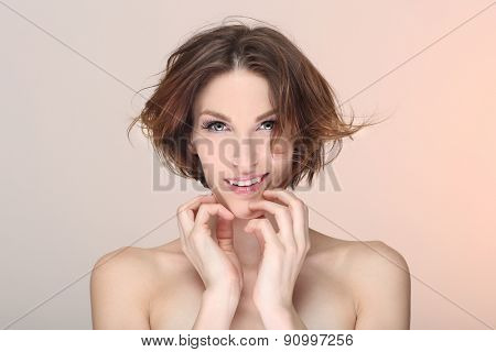 Clean Lifestyle Image of a Beautiful Woman