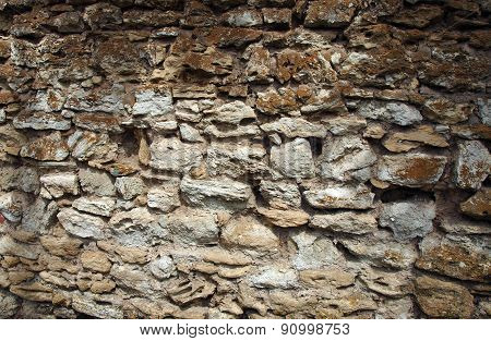 Wall From Old Stone