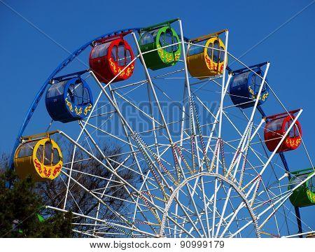 Ferris Wheel Closeup