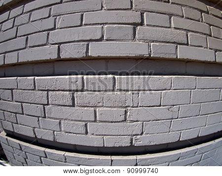 Wall From Gray Bricks