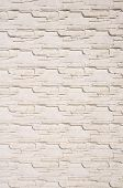 image of tile cladding  - White cladding tiles imitating stones in sunny day - JPG