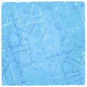 pic of architecture  - architecture blueprint  - JPG