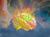image of psychedelic  - Burning Psychedelic - JPG