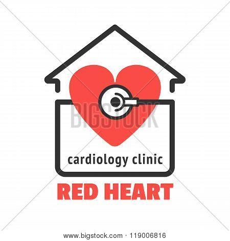 Cardiology clinic logo