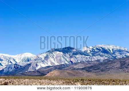 Mount Charleston por Mirador desierto de Nevada