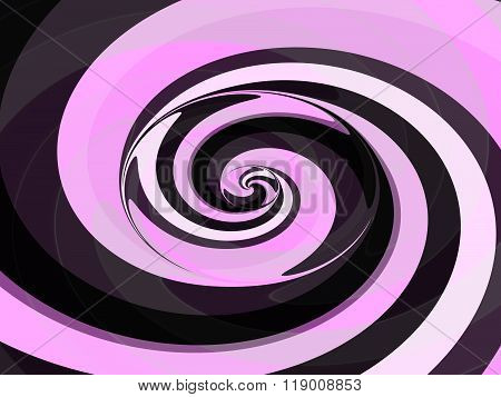 Abstract spiral pink gray white black pattern usable as background for visiting and business card