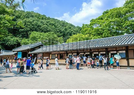 Korean Folk Village,Traditional Korean style