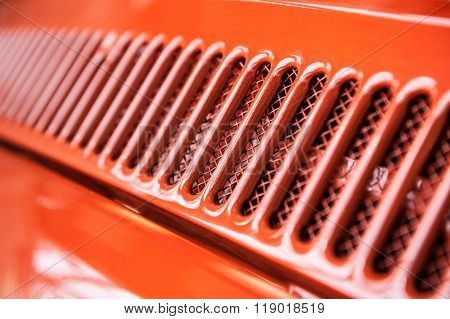 Abstract Cooling Grill Detail
