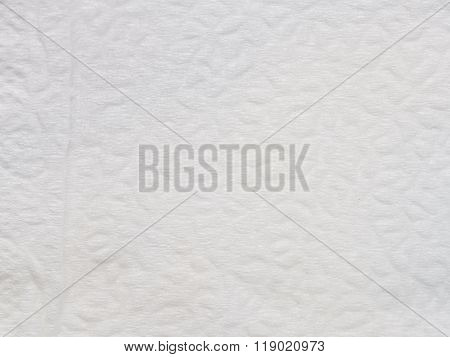 Texture And Background Of White Tissue Paper