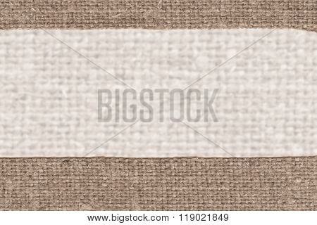 Textile pattern, fabric decoration, buff canvas, sackcloth material, closeup background