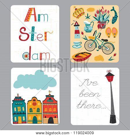 Netherlands Set Of Cards