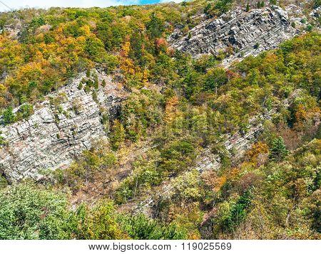 Water Gap Cliffs