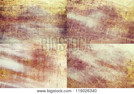 Orange Colored Grunge Texture Backgrounds