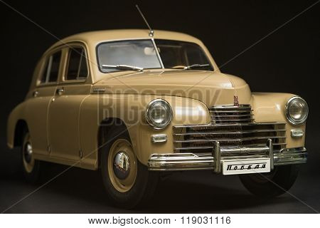 Soviet retro car Gaz M 20