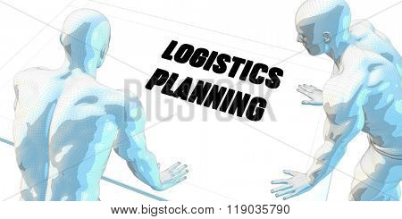 Logistics Planning Discussion and Business Meeting Concept Art