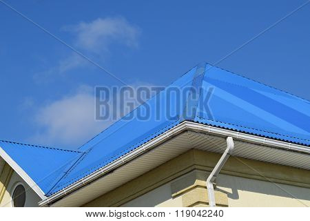 Blue Roof Metal Sheets