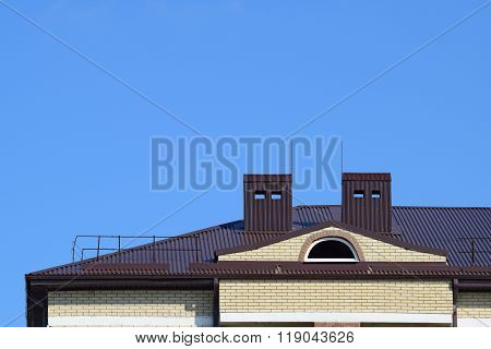 The Roof Of A Multistory Building