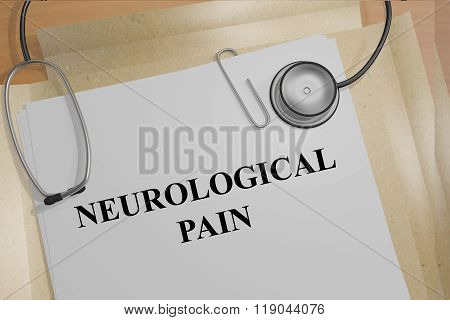 Neurological Pain Concept