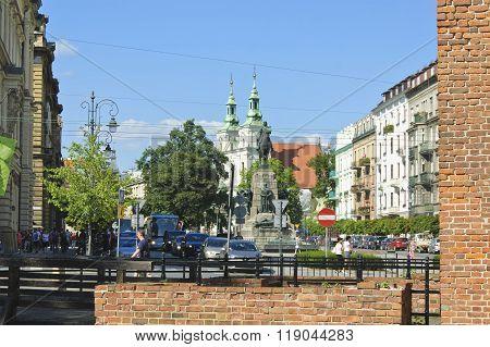 Jana Matejki Square