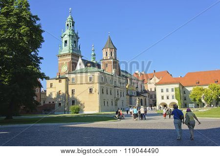 The Cathedral Of Wawel Castle