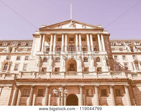 Bank Of England Vintage