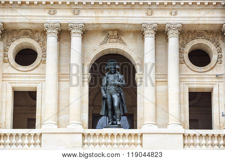 Statue of Napoleon Bonaparte, Les Invalides, Paris, France