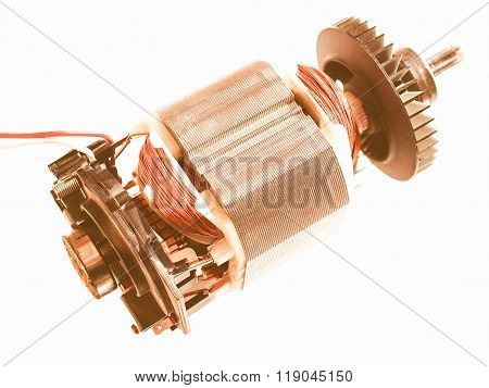 Electric Engine Vintage