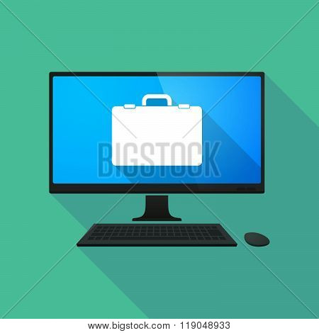 Personal Computer With  A Briefcase