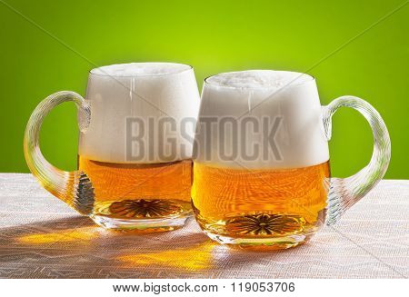 Two Beers On The Table