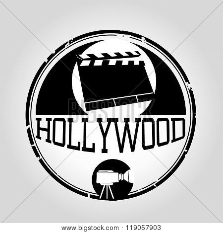 Hollywood stamp