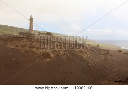 Light tower of Faial Island, Azores, Portugal